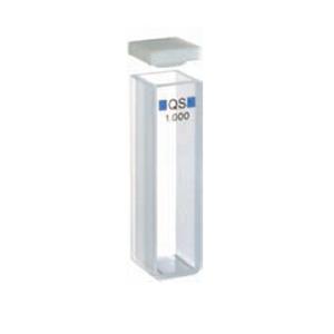 常量矩形比色皿,光学玻璃,PTFE 盖,50 mm 光程,17.5 mL,适用于 Agilent 8453 紫外-可见分光光度计