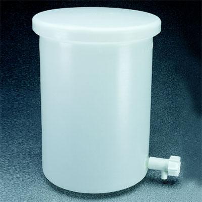 NALGENE带放水口的罐,7-1/2加仑