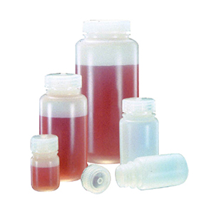 广口样品瓶,125ml,天然HDPE
