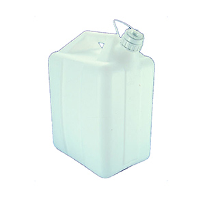 NALGENE油桶,高密度聚乙烯;白色聚丙烯螺旋盖,6L容量