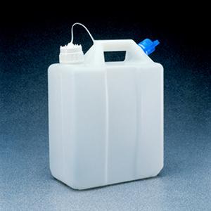 NALGENE13L油桶,高密度聚乙烯;系有聚丙烯桶盖,盖尺寸53B,38-430