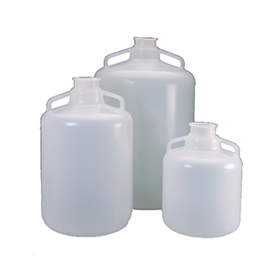 NALGENE卫生细口大瓶,聚丙烯,带3 in,熔接卫生法兰,20L容量