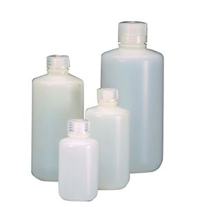 窄口瓶,1000ml,氟化HDPE