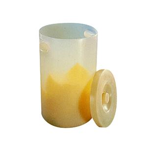 NALGENE大号废物容器(带盖),聚丙烯,23L容量