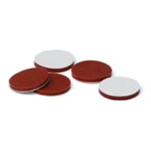 认证的用于2ml广口螺纹盖的隔垫 乳白色 100个/包