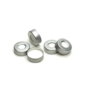 银色铝质,PTFE/硅橡胶隔垫-60ºC 到180ºC 100/包