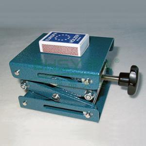手动实验室用升降台,最低高度70mm,最高高度260mm