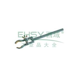 铁架台用夹,韧性铸铁,跨距25 mm