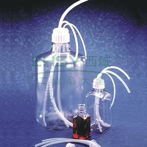 NALGENE用于NALGENE瓶和细口大瓶(带螺旋盖)的Flexible Top WorksTMSystems,聚丙烯盖,白金硅胶衬垫,NALGENE盖尺寸83B,无端口