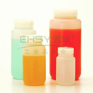 氟化广口瓶,125ml,氟化HDPE