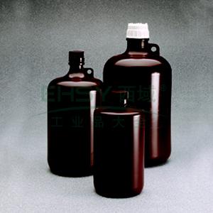 棕色大窄口瓶,2L,PP