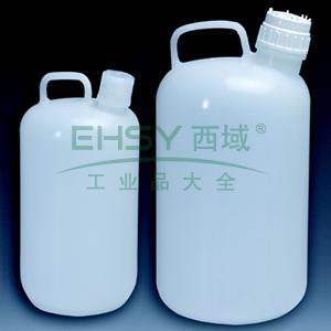 NALGENE大壶,聚丙烯;聚丙烯螺旋盖,4L容量