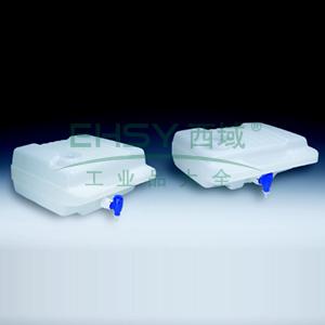 NALGENELowboysTM,高密度聚乙烯,聚丙烯放水口和螺旋盖,15L容量