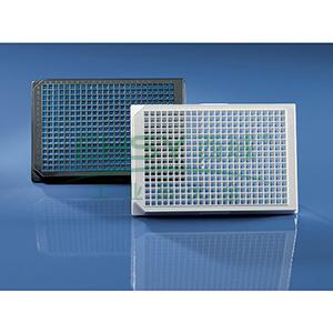 BRANDplates® 微孔板,384孔,cellGrade™ premium,PS材质,黑色,底透,灭菌,50个/包