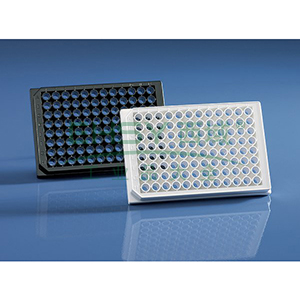 BRANDplates® 微孔板,96孔,cellGrade™ plus,PS材质,黑色,底透,灭菌,50个/包