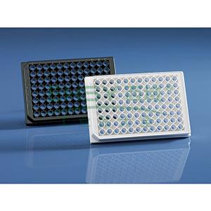 BRANDplates® 微孔板,96孔,cellGrade™ plus,PS材质,白色,底透,灭菌,50个/包