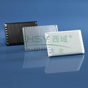 BRANDplates® 微孔板,384孔,cellGrade™,PS材质,透明,F形底,灭菌,50个/包