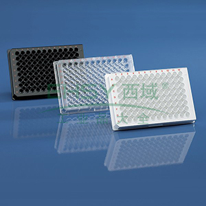 BRANDplates® 微孔板,96孔,cellGrade™,PS材质,黑色,F形底,灭菌,50个/包