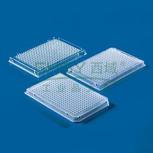 BRAND384孔PCR板,0.03ml,柔软有弹性,Real-Time PCR适用,全裙边,50个/包