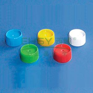 BRAND旋盖(PP材质),适用于散装微量储存管(PP材质),蓝色,1000个/箱