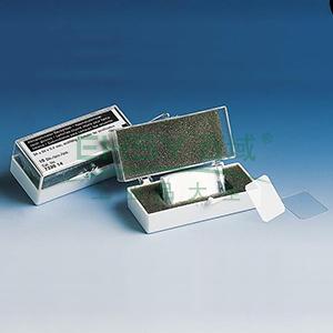 BRAND血细胞计数板专用盖玻片,适用于血细胞计数板,硼硅酸盐玻璃,24*24mm,符合IVD标准,100个/箱