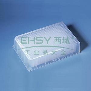 BRAND深孔板,384孔,PP材质,未灭菌,可堆叠,300µl,48个/箱