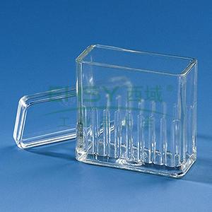 BRAND染色槽,Hellendahl式,可以放置16张载玻片,10个/包