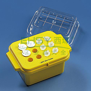 BRAND低温储存盒,PC材质,工作温度恒定于-70 癈,可保持45分钟