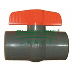 环琪/HERSHEY  美标PVC简单型球阀