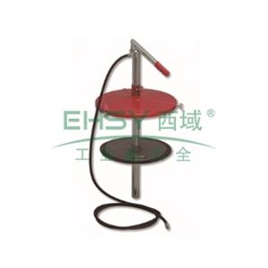 MATO 3380571 手压黄油泵组套,适用5kg桶,桶内径165-200mm,注油管2m