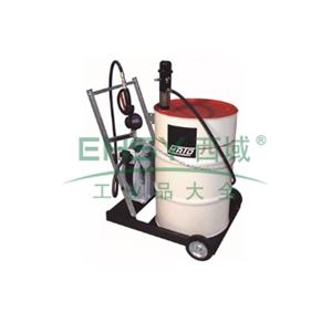 MATO 3404093 1:1可移动气动油泵组套,带数显机油枪,4m油管,适用200L油桶