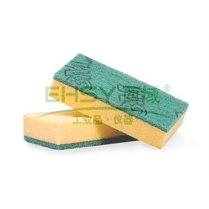 高效海绵百洁布,3M 7401  7.5CMx14.5CM