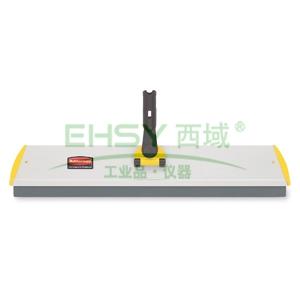 乐柏美快接式干/湿铝制拖头,18英寸(45.7cm)