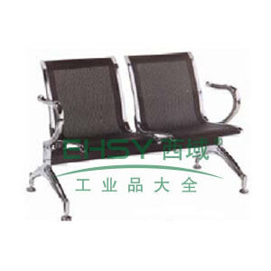 金属等候椅,双人位1220*680*881