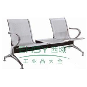 金属等候椅,双人位1800*680*880