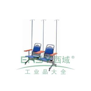 金属等候椅,双人位1400*680*880
