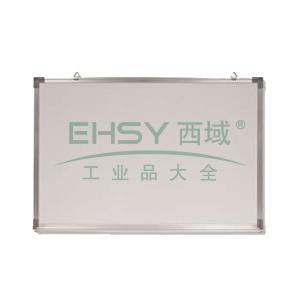 单面铝框磁性白板, 600×450mm