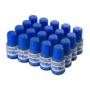 齐心 M808 记号笔墨水 12ml 蓝