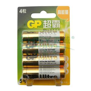 超霸碱性电池 ,GP15AU-2EL4