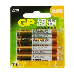 超霸碱性电池,GP24AU-2EL4