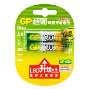 超霸镍氢充电电池 ,GP130AAHC-2IL2