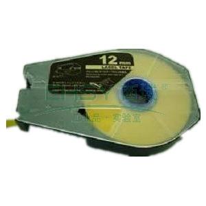 佳能贴纸, 黄色9mm长30m,适用佳能线号机