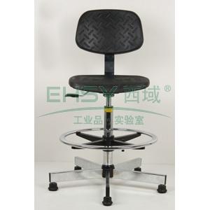 防静电工作椅,PU聚氨酯发泡 调节高度530~780mm(散件不含安装)