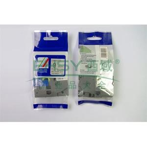 标签色带,银底黑字TZ2-M921宽度9mm 适用于兄弟TZ系列标签机