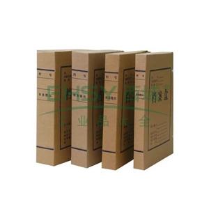 牛皮纸档案盒 ,A4 背宽2cm (本色) 单个