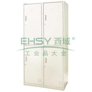 EU-604 Locker更衣柜,900长*500宽*1850高,乳白色,0.7mm厚度