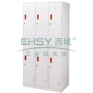 EU-606 Locker更衣柜,900长*500宽*1850高,乳白色,0.7mm厚度