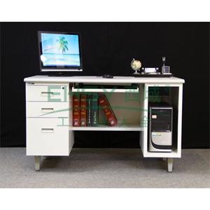 EU-121电脑桌,1210长*600宽*740高,乳白色,0.7mm厚度