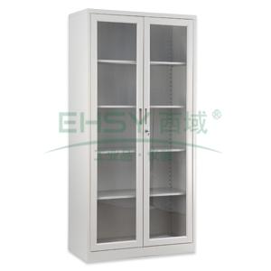 玻璃开门柜,  1840×900×400mm,仅限上海地区
