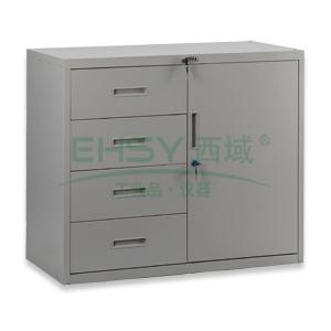 四斗单门柜, 750×900×400mm,仅限上海地区